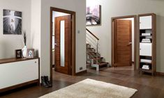 Internal Doors: Huge Selection Of Stylish Interior Doors Interior Door Colors, Interior Design, Stylish Interior, Walnut Doors, Treatment Rooms, Bedroom Doors, Aragon, High Quality Furniture, Internal Doors