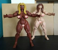 Something we liked from Instagram! Chesty Knights Alshiga dark and white version. #3d #3dprint #custom #customactionfigure #actionfigure #toy #etsy #etsycommunity #curvy #fantasy #sexy #sexyfemale #sexyactionfigure #sexyfigure #nude #barbarian # #sexygirl #mature #busty #bbw #voluptuous #handmade #upmini #3dprinter #design #designertoy by plasticpolygon check us out: http://bit.ly/1KyLetq