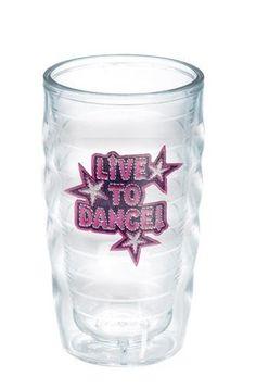Totally Kids Live to Dance 10 Oz. Wavy Tumbler