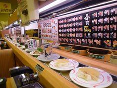 日本の技術!古い寿司を自動排除する回転寿司について 海外の反応