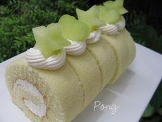 Bloggang.com : Baked by PonG : ชิฟฟอนใบเตย
