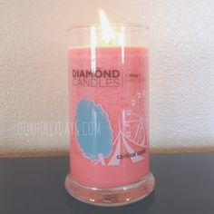 Diamond Candles. I don't like scented candles but it's a nice idea to put a ring in it.