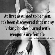 female Viking warriors