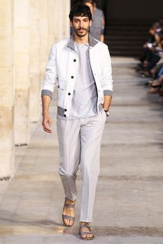 Photos of the Hermes Spring/Summer 2014 Men's Collection show from Paris Fashion Week