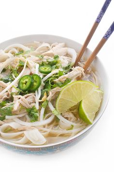 Slow Cooker Chicken Pho - a flavorful weeknight dinner recipe