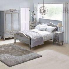 Poze DUG101 - Dulap Sifonier dormitor cu 1 sertar - Argintiu