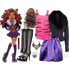 Monster High: Clawde