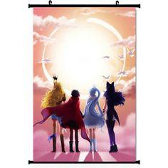 "RWBY Volume 2 3 Hot Anime Silk Wall Scroll Poster 11.5x20"" Ruby Rose 002"