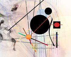 Kandinsky, Abstract, Artwork, Summary, Work Of Art, Auguste Rodin Artwork, Artworks, Illustrators