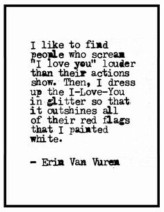 I like to find people . . . | Erin Van Vuren