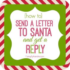 SantaS Address To Send Your ChildS Letters To  ItA Beginning
