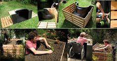 TERRAform Raised Bed Makes Gardening Wheelchair Accessible : TreeHugger