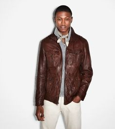 ffa2c90d714c Vintage Lamb Zip Jacket