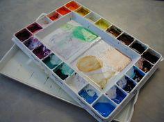 Basic watercolor palette - Fountain Studio
