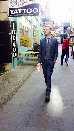 New suit, 3 piece, manager status