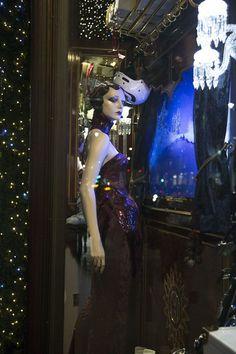 Christmas windows in London (Vogue.com UK)