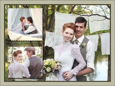 This Clean And Stylish Wedding Photo Al Design Created With Http Ams