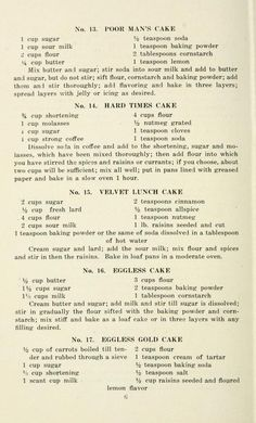 Eggless recipe book for cakes, cookies, muffins, and desserts Retro Recipes, Old Recipes, Vintage Recipes, Cookbook Recipes, Cooking Recipes, Family Recipes, Recipies, Eggless Desserts, Eggless Recipes
