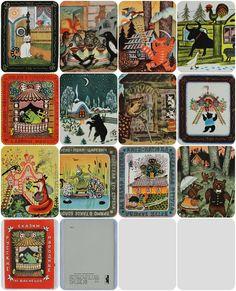 Artist Y. Vasnetsov  Russian folk tales  Set от RareBooksAndMore
