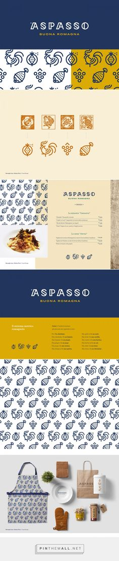 ASPASSO Buona Romagna Restaurant Branding by Jona Sbarzaglia and Stefano Ricci | Fivestar Branding Agency – Design and Branding Agency & Curated Inspiration Gallery #restaurantbranding #branding #brand #design #designinspiration