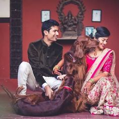 pets at wedding Pre Wedding Photoshoot, Wedding Shoot, Dog Portraits, Bridal Portraits, Wedding Pictures, Cute Pictures, Beautiful Mehndi, Mehndi Photo, Dogs And Kids