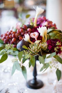 I've always loved seeded eucalyptus...mixed with any type of berry is just beautiful.