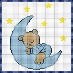 Our Cross Stitch! Cross Stitch Owl, Baby Cross Stitch Patterns, Cross Stitch For Kids, Cross Stitch Animals, Cross Stitch Charts, Cross Stitch Designs, Cross Stitching, Crochet Patterns, Baby Embroidery
