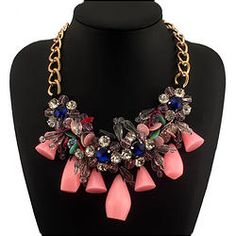 Candy  Statement Necklaces CE1263