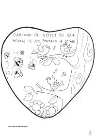 maestra Nella: libretto ' filastrocca primaverile' Rami, Bullet Journal, Snoopy, Valentines, Seasons, Spring, Illustration, Kids, No Religion