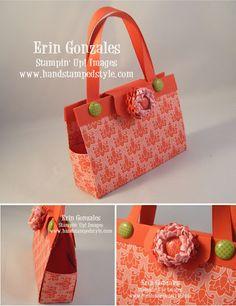 paper purse- http://facebook.com/handstampedstyle