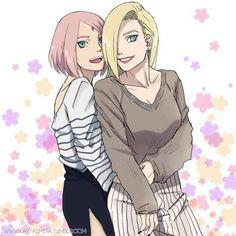Ino & Sakura BFFS