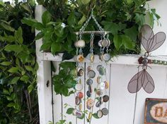 Up-cycled bottle cap wind-chime