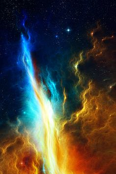 Gorgeous pic of stardust nebula... just stunning, like a flame.