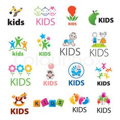 Collection of vector logos children. Biggest collection of vector logos children ,