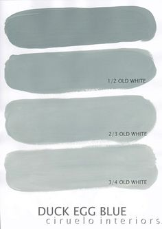 Annie Sloan Chalk Paint - Duck Egg blue w/ Old white