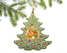 Christmas Tree Ornaments – Christmas Tree, Christmas decoration – a unique product by Decolores4U on DaWanda