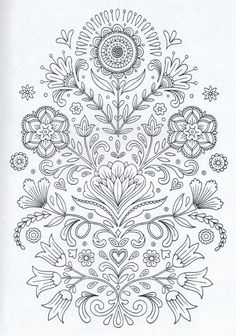Scandinavian Coloring Book Pg 4