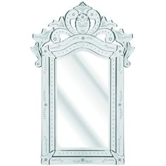 D & J Simons The Solitaire Bevelled Mirror & Reviews | Wayfair UK