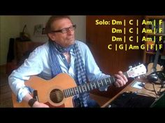 """How To Play """"Right Down The Line"""" by (c) Gerry Rafferty - Tutorial with ..."""