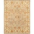 Safavieh Handmade Heritage Timeless Traditional Blue/ Beige Wool Rug (9'6 x 13'6) - Free Shipping Today - Overstock.com - 11722103 - Mobile