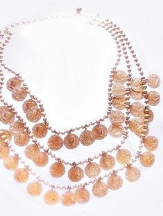 "Vintage EGYPTIAN REVIVAL Cleopatra 17.5"" necklace £102.95"