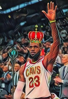 Starting tonight a new daily Basketball Tipoff Phone Wallpaper series will begin. Each day I will create and post a phone wallpaper. Tonights featured Wallpaper is King James in honor of LeBron passing Jordan for the most consecutive double figure point games. -ATrain