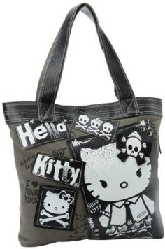 eb0dffa232 Angry Hello Kitty Tote Purse Hello Kitty Handbags