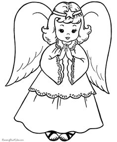 free christmas coloring printables | Christmas Coloring Pages