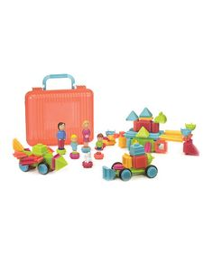 Look at this #zulilyfind! 85-Piece Bristle Block Set #zulilyfinds