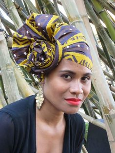 attaché foulard ~Latest African Fashion, African Prints, African fashion styles, African clothing, Nigerian style, Ghanaian fashion, African women dresses, African Bags, African shoes, Nigerian fashion, Ankara, Kitenge, Aso okè, Kenté, brocade. ~DKK