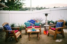 Colorful Fiesta Style Backyard Wedding | real wedding inspiration from Alex Rapada Photography via AislePlanner.com