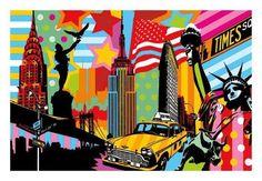 Art print of New York Taxi I by Lobo
