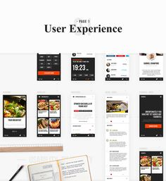 ChefMates. Сulinary guide on Behance