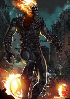 Ghost Rider by panelgutter.deviantart.com